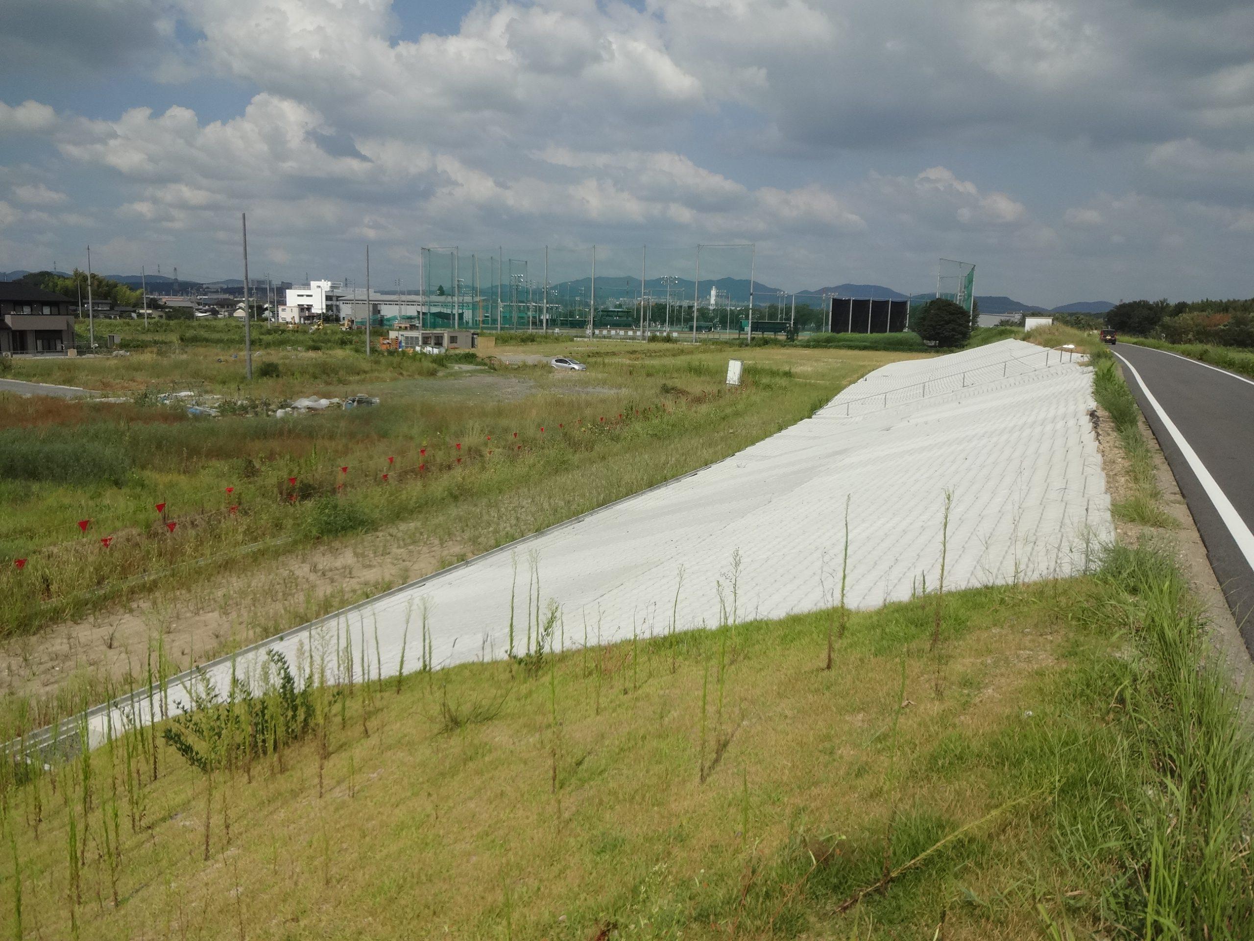 平成30年度庄内川上条地区堤防整備工事基本測量