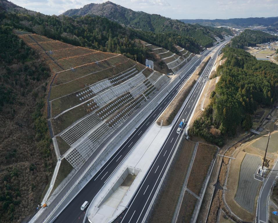 第二東名高速道路工事に伴うUAV調査業務