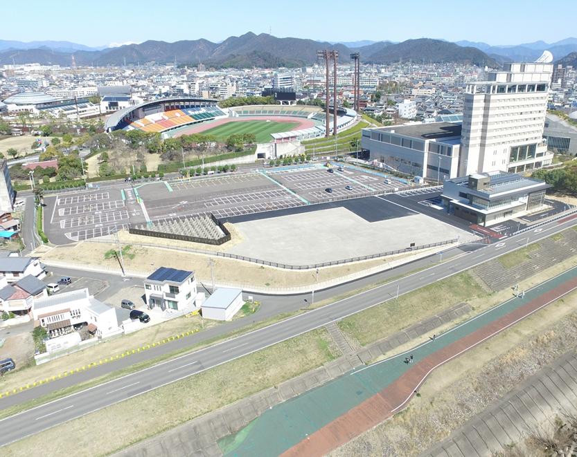 (仮称)岐阜市長良川防災・健康ステーション建設建築主体工事に伴うUAV調査業務