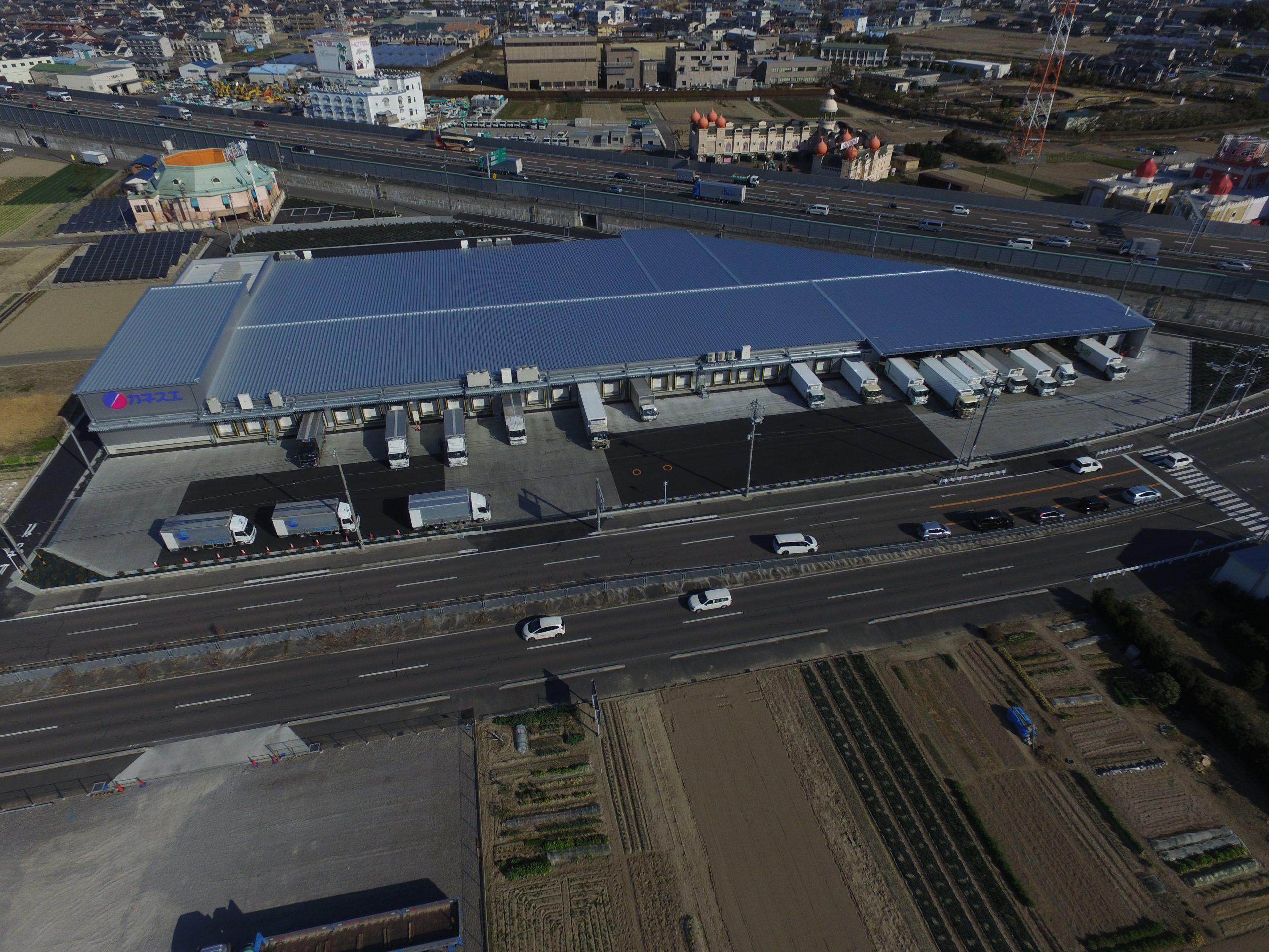 カネスエ稲沢センター建設工事に伴う測量業務