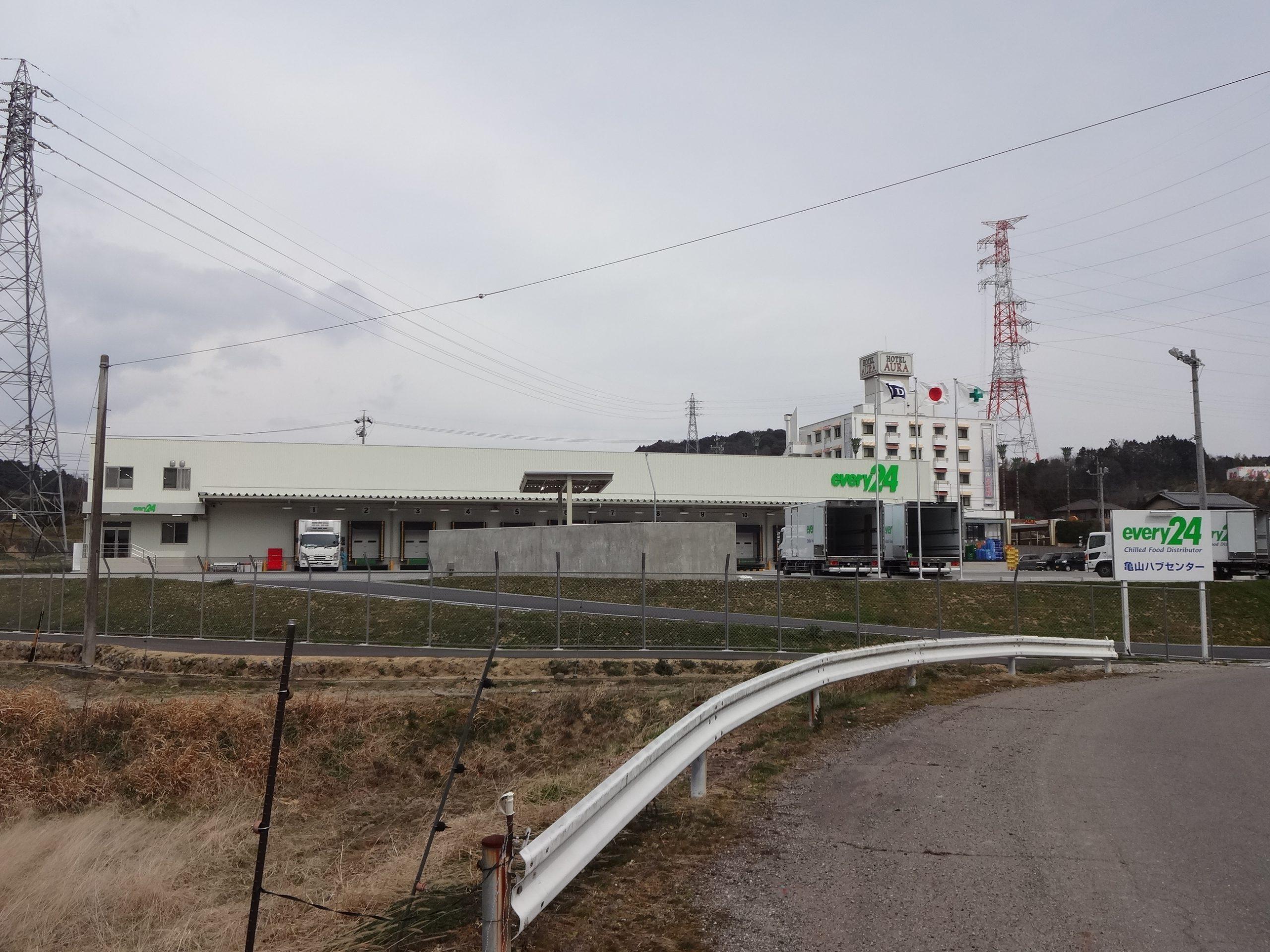 ダイセーエブリー二十四㈱亀山ハブセンター建設工事に伴う開発申請業務